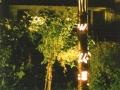 Abendbeleuchtung-vor-Café