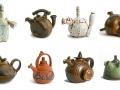 Funktionale-Keramik-Acht-Kannen